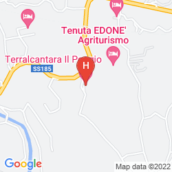 Mappa TERRALCANTARA IL POGGIO