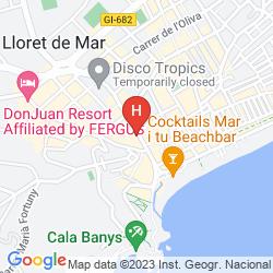 Mappa GRAN HOTEL FLAMINGO