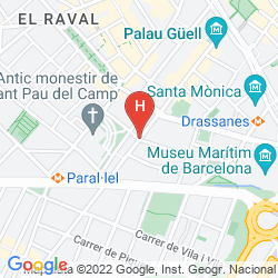 Mappa MH APARTMENTS GUELL
