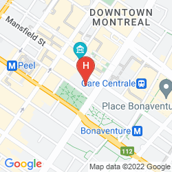 Mappa MONTREAL Y