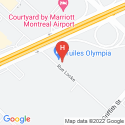 Mappa RESIDENCE MARRIOTT MONTREAL AIRPORT
