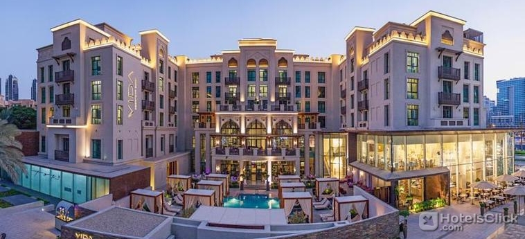 Hotel vida downtown dubai dubai emirati arabi uniti for No 1 hotel in dubai