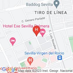 Karte EXE SEVILLA PALMERA