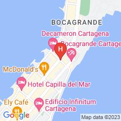 Mappa HOTEL CARTAGENA MILLENNIUM
