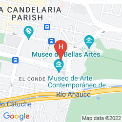 Mappa ANAUCO SUITES