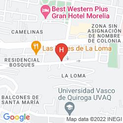 Mappa CASA DE LA LOMA