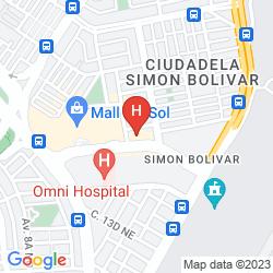 Mappa SONESTA HOTEL GUAYAQUIL