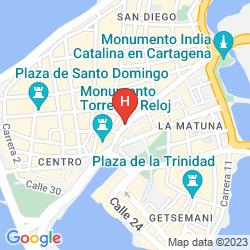 Mappa RADISSON CARTAGENA OCEAN PAVILLION HOTEL