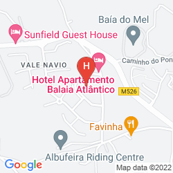 Mappa APARTHOTEL BALAIA ATLANTICO