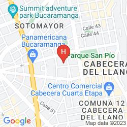 Mappa DANN CARLTON BUCARAMANGA