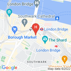Mappa LONDON BRIDGE
