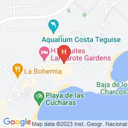 Mappa APARTAMENTOS GALEON PLAYA