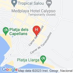 Mappa MARIPOSA