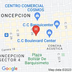 Mappa HILTON BARQUISIMETO HOTEL