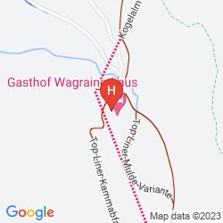 Mappa BERGHOTEL WAGRAINERHAUS