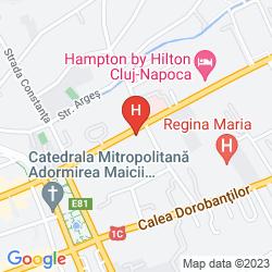 Mappa HOTEL CLUB RESIDENCE ROSCIANUM
