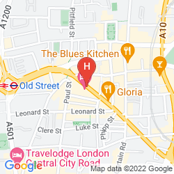 Mappa THE HOXTON
