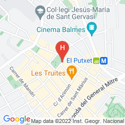 Mappa BONANOVA SUITE