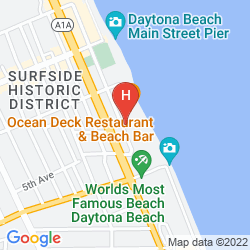 Mappa SUPER 8 OCEANFRONT