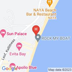 Mappa PEGASOS BEACH