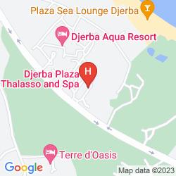 Mappa HOTEL DJERBA PLAZA