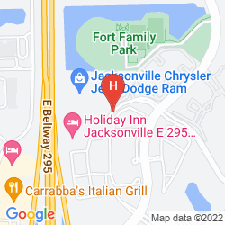 Mappa HOLIDAY INN JACKSONVILLE S-9A BAYMEADOWS
