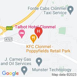 Mappa CLONMEL PARK HOTEL