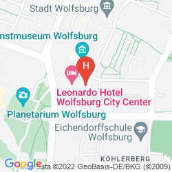 Mappa LEONARDO HOTEL WOLFSBURG CITY CENTER