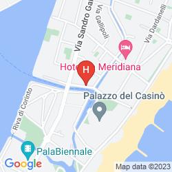 Mappa QUATTRO FONTANE RESIDENZA D'EPOCA