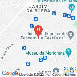 Mappa FEEL GOOD APARTMENTS SANTOS