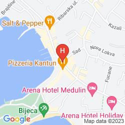 Mappa VILLA CATALINA
