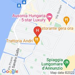 Mappa ATLANTA AUGUSTUS