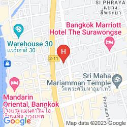 Map MA HOTEL BANGKOK