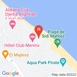 Map HOTEL CLUB MENINX