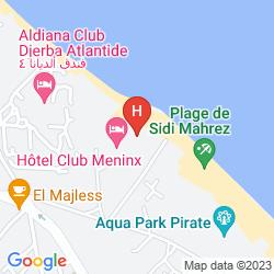 Map HOTEL CLUB MENINX