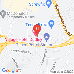 Map DE VERE VILLAGE BIRMINGHAM DUDLEY - HOTEL & LEISURE CLUB