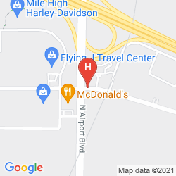 Map COMFORT INN DIA AIRPORT