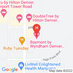 Map BAYMONT INN & SUITES DENVER INTERNATIONAL AIRPORT