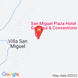 Map SAN MIGUEL PLAZA HOTEL GOLF SPA & CONVENTIONS