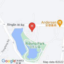 Map BEST WESTERN RI DONG GARDEN HOTEL XIAMEN