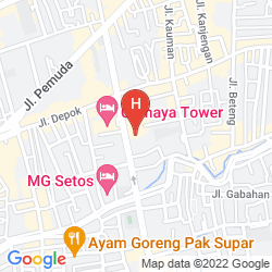 Map QUEST HOTEL BY ASTON