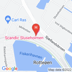 Map FIRST HOTEL COPENHAGEN