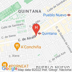 Map RAFAELHOTELES VENTAS