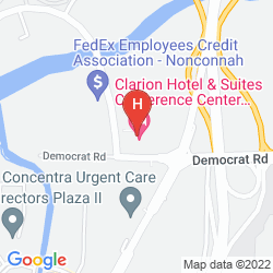 Map HOLIDAY INN SELECT AIRPORT