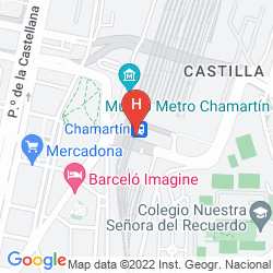 Map HUSA CHAMARTIN