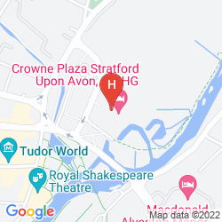 Map HOLIDAY INN STRAFORD UPON AVON