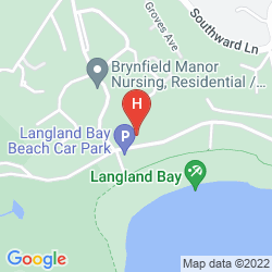 Map LANGLAND COURT HOTEL
