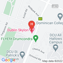 Map BEST WESTERN DUBLIN SKYLON