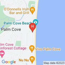 Map VILLA PARADISO