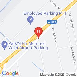 Map COMFORT INN AIRPORT DORVAL